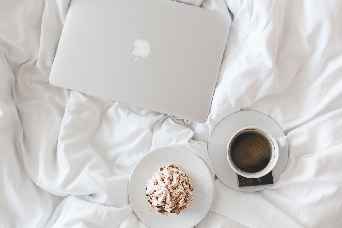 Breakfast in bed with your email program? Yup, it's true love.